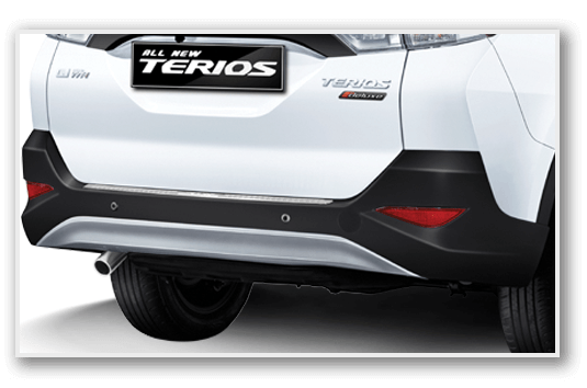Exterior All New Terios 7